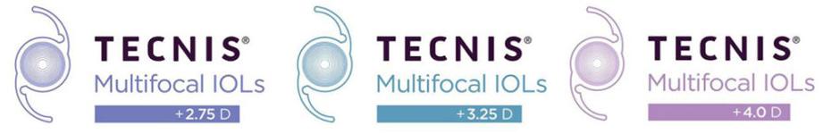 Tecnis Multifocal IOL Examples