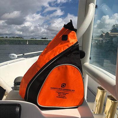 Ginsberg Bag on boat