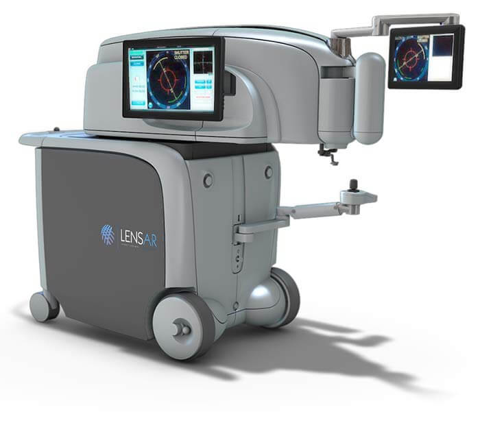 LENSAR Femtosecond Laser for Cataract Surgery