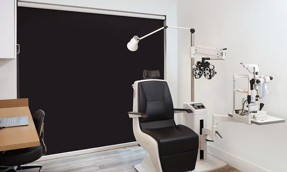 Gingsberg Eye patient room
